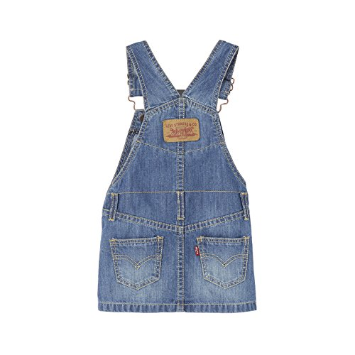 Salopette Fille Dress Levi's jupe Saly Bleu 46 Nl31504 denim wHwfxt