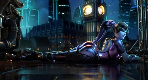 (XXW Artwork Overwatch Widowmaker Poster Character/Defense Prints Wall Decor Wallpaper)