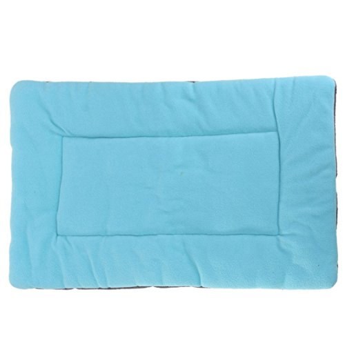 1Pcs Zenith Popular Pet Bed Sleep Mat Size XS Puppy Sofa Mattress Rug Dog Plush Color Blue
