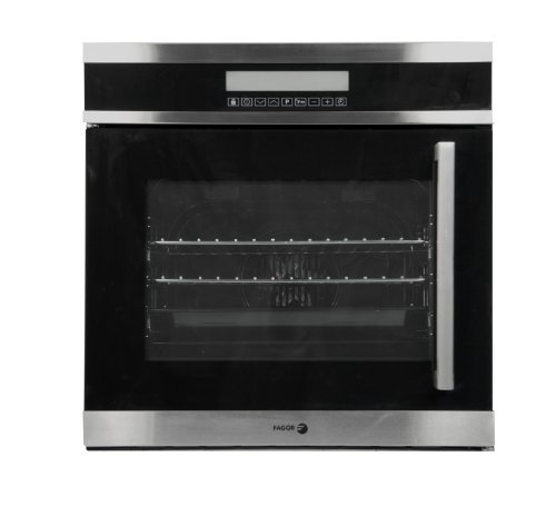 Fagor 6HA-200TLX Convection Wall Oven with Left Hand Touch Controls and 4 Cooking Programs, 24-Inch