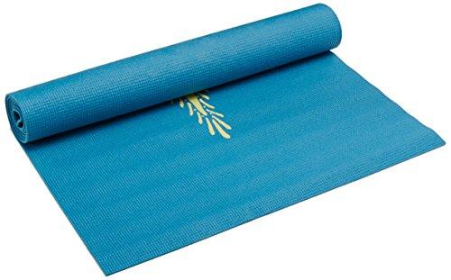 Hugger Mugger Gallery Collection Yoga Mat, Blue Henna, 68-Inch