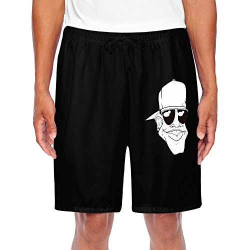 DANSHEN Men's Cool Guy With Sunglasses Shorts - Guys With Cute Sunglasses