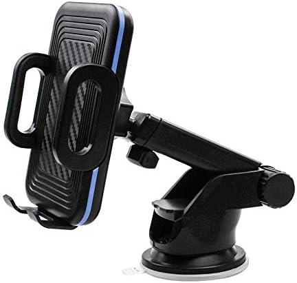車の携帯電話ブラケットカーナビゲーションフレーム車の伸縮式吸盤式空気出口炭素繊維携帯電話ブラケット (Color : G)