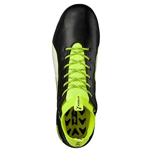 Da Yellow 01 Nero Uomo white safety Evotouch black Calcio Puma Fg Pro Scarpe qIC4Ox