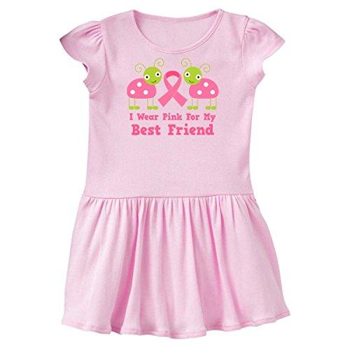inktastic - Pink Ribbon Best Friend Toddler Dress 5/6 Ballerina Pink ddb4