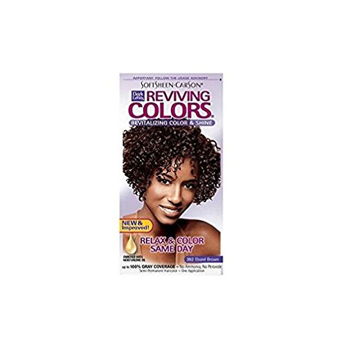 Dark and Lovely Reviving Color 392 Ebone Brown - 3 - Ebony Brown Color