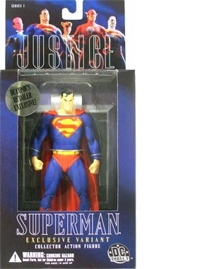Justice #1 Alex Ross Superman Variant Action Figure ()
