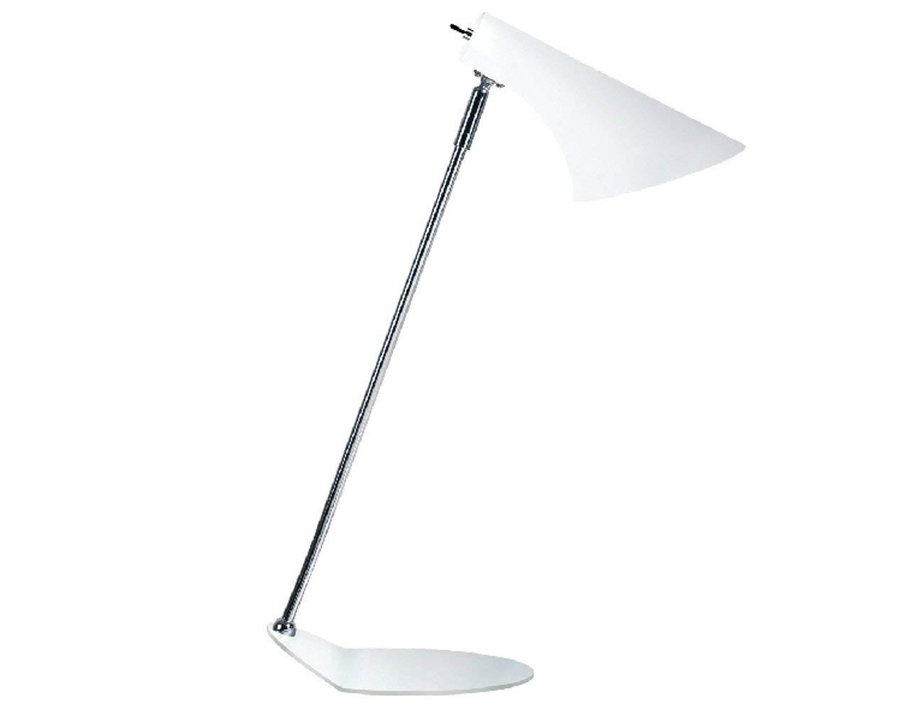 Nordlux Tischleuchte, Metall, E14, 40 W, weiß, 13 x 0 x 45 cm