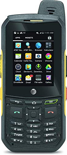 Sonim XP6 | 4G LTE | 8GB, 1GB RAM | 4800 mAh battery | Car/Truck PTT Combo Kit | (Black/Yellow) - AT&T Unlocked