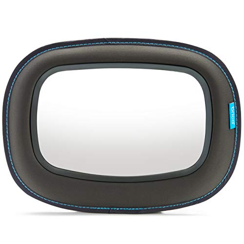 Brica Vivid Reflection Baby In-Sight Car Mirror, Crash Tested and Shatter ()
