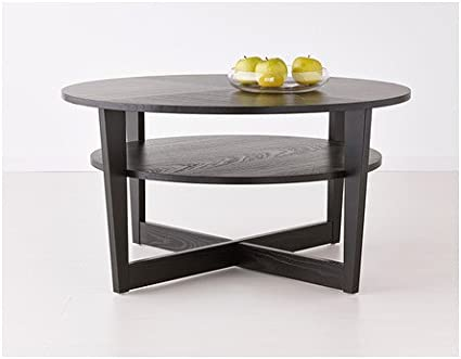 Ikea Vejmon Coffee Table Black Brown Amazon Co Uk Kitchen Home