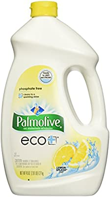 45 onza Lemon splash Palm verde ECO + Gel detergente ...