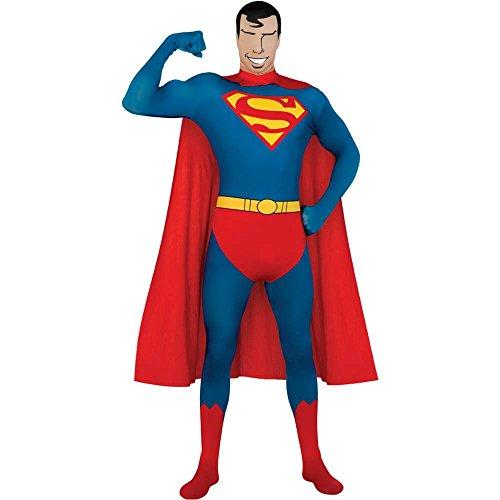 Superman 2nd Skin Suit Adult Costume -
