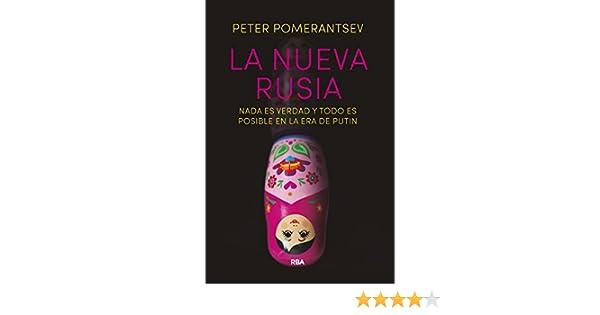 La nueva Rusia (OTROS NO FICCIÓN) eBook: Pomerantsev, Peter, Ana ...