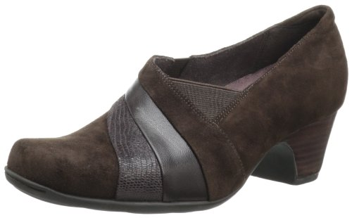 CLARKS Women's Sugar Spice, Brown Suede, 12 ()