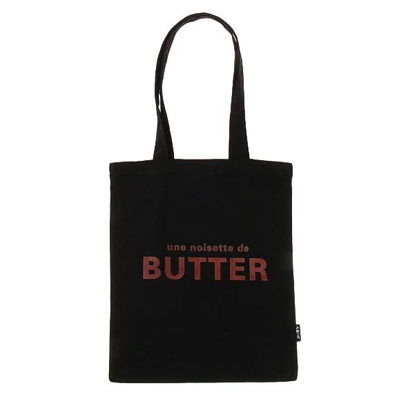 f1f7166682cc1 F Fityle Stoffbeutel Jutebeutel Beutel Shopping Bag Tragertasche  Einkaufstasche Handtasche Lange Griffe Tote Tasche - Schwarz  Amazon.de   Schmuck