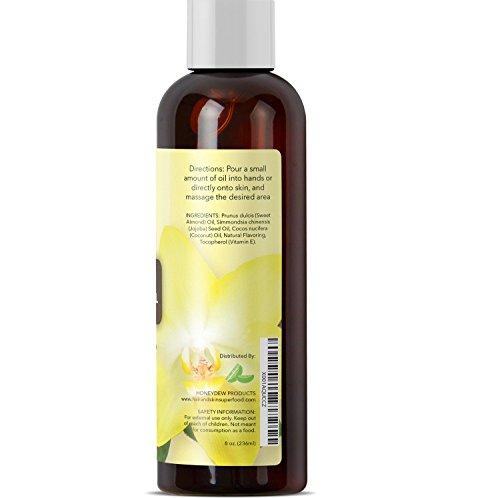 Erotic Massage Oil with Vanilla Bean Extract - Massage