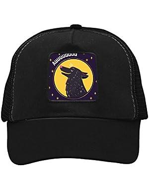 Unisex Moon Wolf Adjustable Classic Hiphop Hat Baseball Cap Snapback Dad Hat