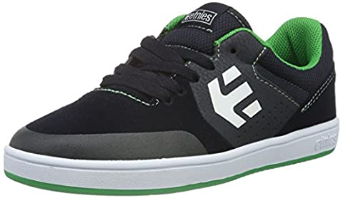 etnies Kids Baby Boy's Marana (Toddler/Little Kid/Big Kid) Blue/Green Suede/Synthetic