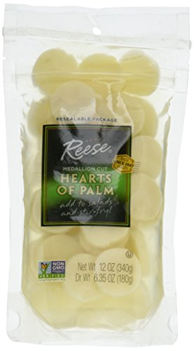Cut Medallion (Reese Hearts of Palm, Medallion Cut, 12 Ounce Pouch)