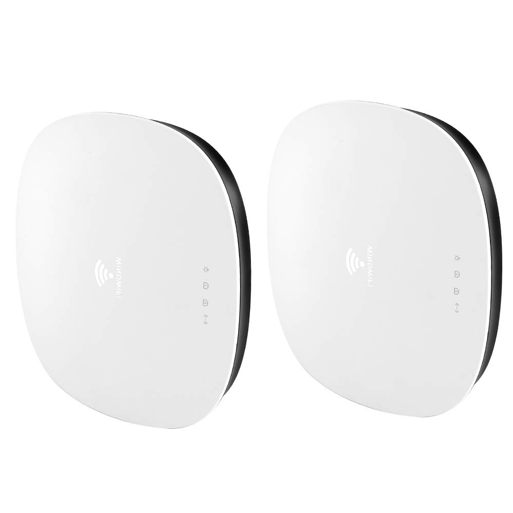 WiFi System,Ultra-Performance Whole Home Mesh WiFi System - WiFi router and single satellite extender, Coverage Up to 4,500 sq. ft ,AC3000(2 Pack) by WINDWIFI