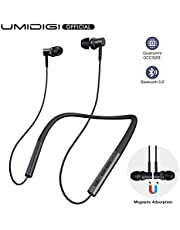 Wireless Earbuds, UMIDIGI Upods Wireless Headphones Bluetooth 5.0 Sweatproof Earphones 24H Playtime Charging Case In-ear Bluetooth Earbuds for iPhone and Android Smart Phones