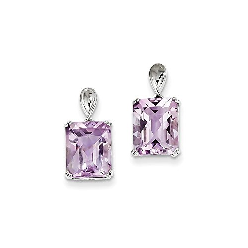 Top 10 Jewelry Gift Sterling Silver Pink Quartz Earrings