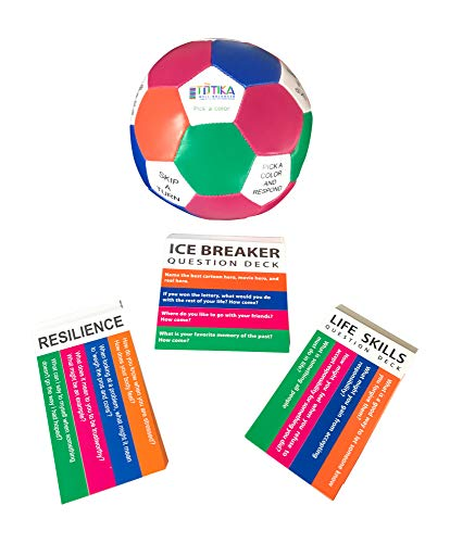 Game Of Life Card Games - Totika Icebreaker, Resilience, Life Skills Cards and Thumball