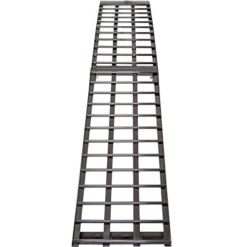 (Black Widow BW-9417-HD 94.5 Single Folding Arched Motorcycle Ramp)