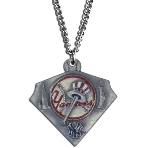 New York Yankees Necklace (MLB New York Yankees Chain Necklace)