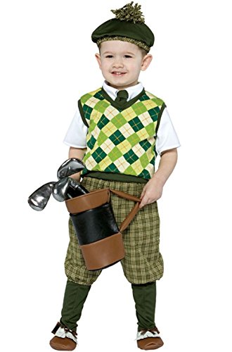 [Mememall Fashion Adorable Pro Future Golfer Toddler Costume] (Baby Golfer Costume)