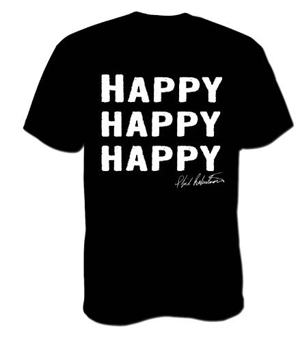 Duck Commander - Happy Happy Happy - Hunting T-shirt Phil Robertson Dynasty