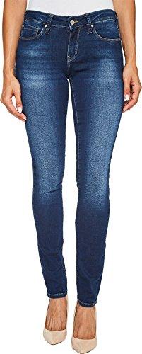 Mavi Jeans Women's Alexa Mid-Rise Skinny in Dark Brushed Shanti Dark Brushed Shanti 24W x 34L
