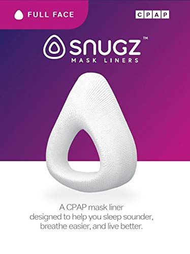 Snugz Mask Liners: Machine Washable Machine Washable, One-Size-Fits-Most CPAP Mask Liners, Pack of 2 Lasts 90 Days (Full-Face (Nose & Mouth)) (Best Cpap Mask Reviews)