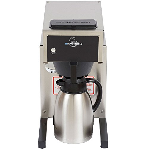 Bloomfield 8785-AL Gourmet 1000 Low Profile Pourover Airpot Coffee Brewer, 120V; 1800W (Profile Low Airpot)