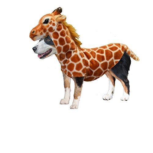 Amazing Pet Products Doggy Wannabe Comfy Creature Coats Costume Giraffe -