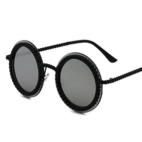 Coréenne amp;lunettes De amp; Soleil 3 couleur 5 Lym x252 Élégante Personnalité Protection Rétro Lunettes xZzyw