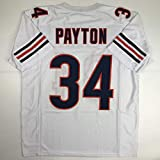 Unsigned Walter Payton Chicago White Custom Stitched Football Jersey Size Men's XL New No Brands/Logos