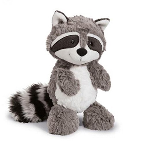 Raccoon Cartoon Animal - 25cm Cartoon Big Tail Raccoon Plush Toy Cute Soft Stuffed Animals Doll Pillow for Girls Children Kids Baby Birthday Gifts
