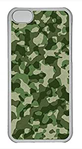 iPhone 5c case, Cute Army Green iPhone 5c Cover, iPhone 5c Cases, Hard Clear iPhone 5c Covers