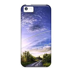 Premium Gorgeous Sunrse During My Journey Covers Skin For Iphone 5c