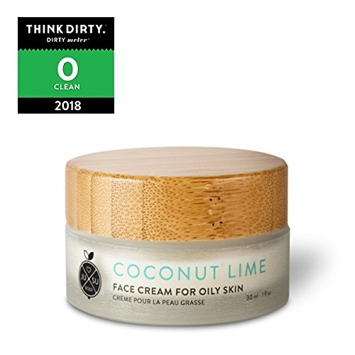 JUSU Body Coconut Lime Face Cream for Acne/Oily Skin - 100% Natural ()