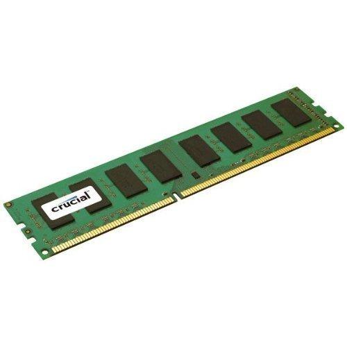 Crucial Ct25664ba1339a 2gb Ddr3 Sdram Memory Module - 2 Gb - Ddr3 Sdram - 1333 Mhz Ddr3-1333/Pc3-10600 - Non-Ecc - Unbuffered - 240-Pin - Dimm - 1333 Mhz 240 Pin Memory