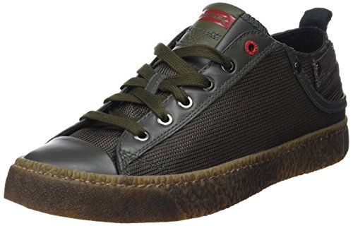 (Diesel Men's Magnete Exposure Low I-Sneakers, Olive Night, 8.5 M US)