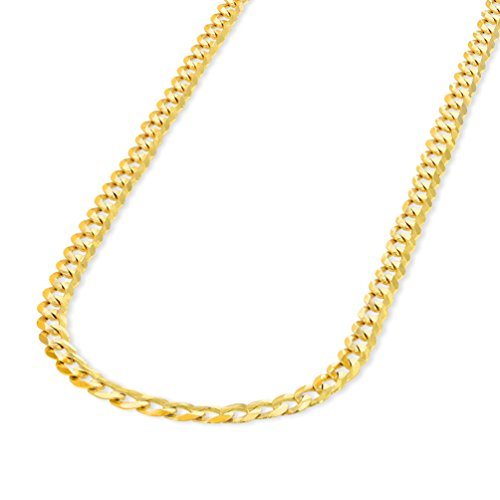 Solid 14K Yellow Gold 2.5mm Co