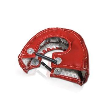 T28 T25 T3 GT37 GT30 JDM Honda Civic Cargador de Turbo manta calor Shield, rojo: Amazon.es: Coche y moto