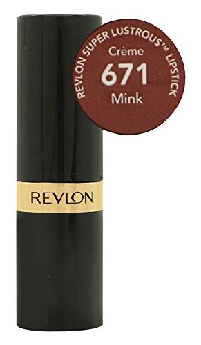 Revlon Super Lustrous Lipstick - Mink - 0.15 oz