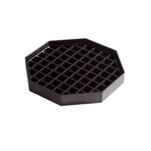 Winco DT-60 4 Count Drip Trays, 6 by 6-Inch, Value ()