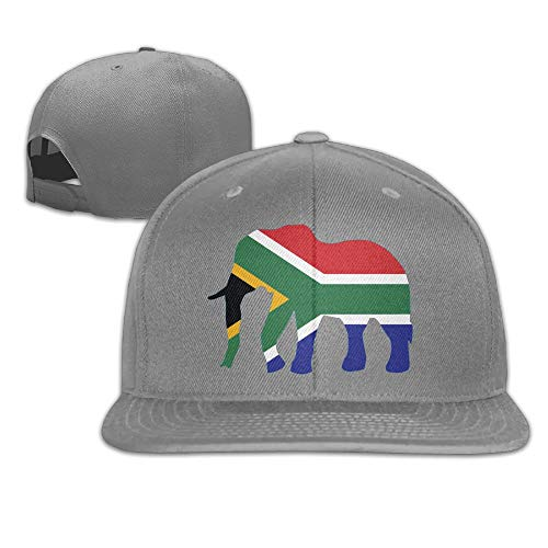 SUN ROSE Elephant South Africa Flag Dad Hat Adjustable Hat Trucker Cap Baseball Hat by SUN ROSE