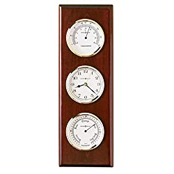 Howard Miller 625-249 Shore Station Weather & Maritime Wall Clock